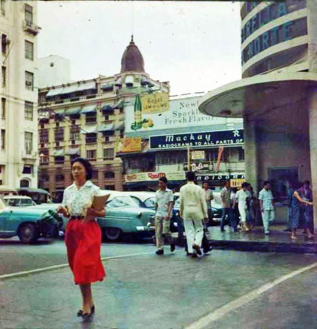 Plaza Moraga-Estrella del Norte entrance-m1950s