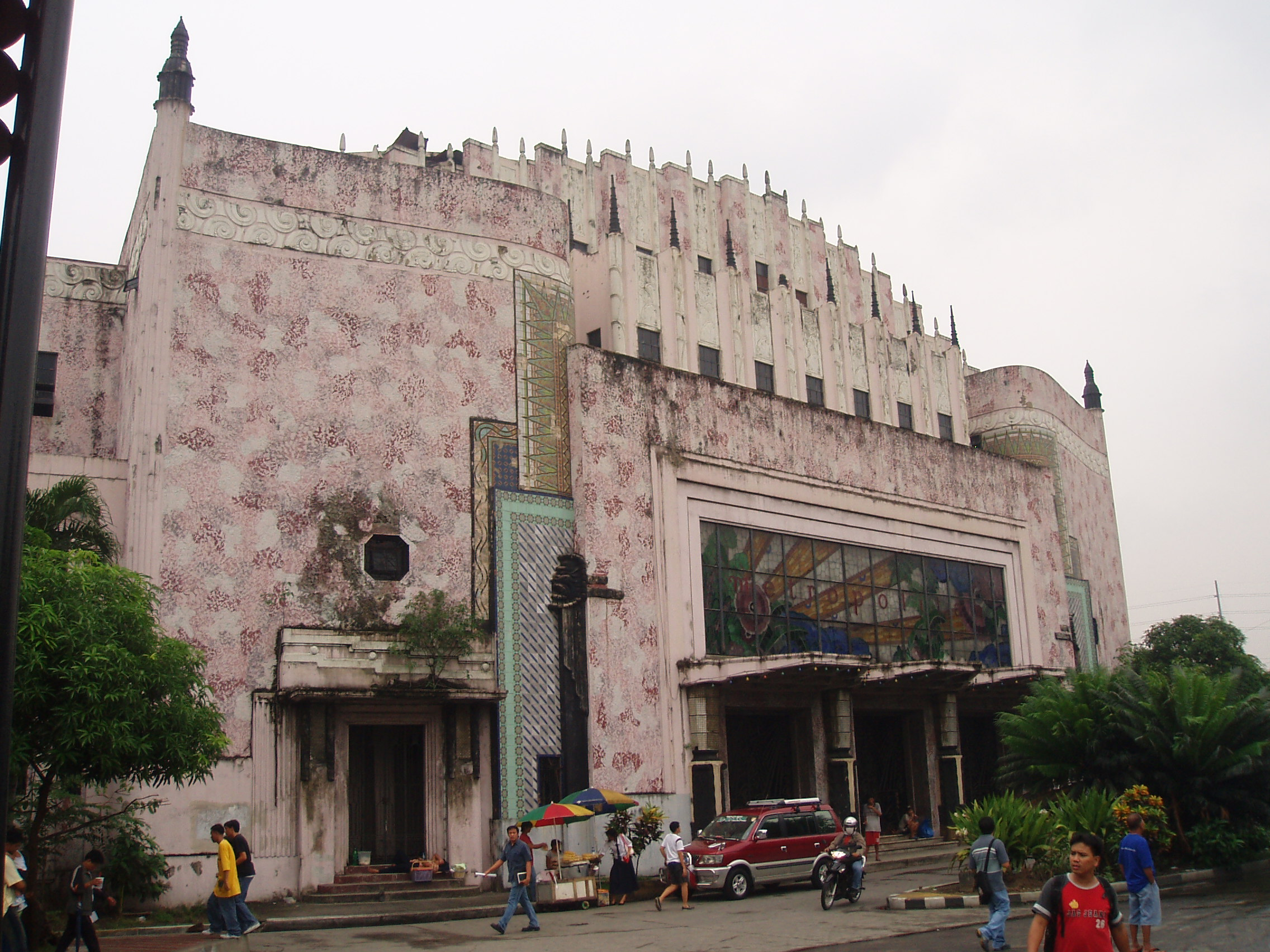 Famous Architecture Buildings In The Philippines the metropolitan theater – art deco style | manila nostalgia