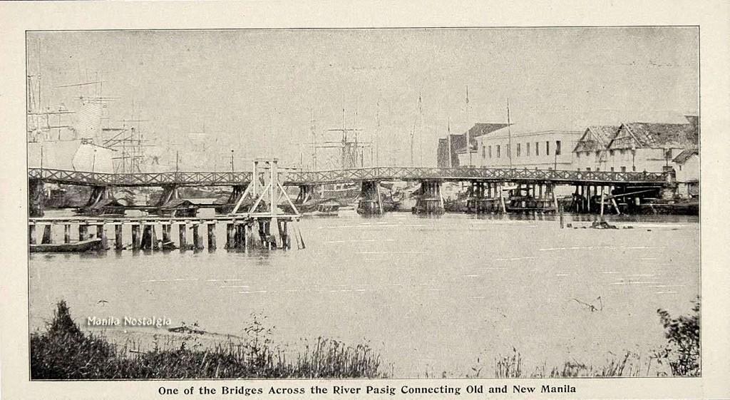Puente de Barcas-1860s