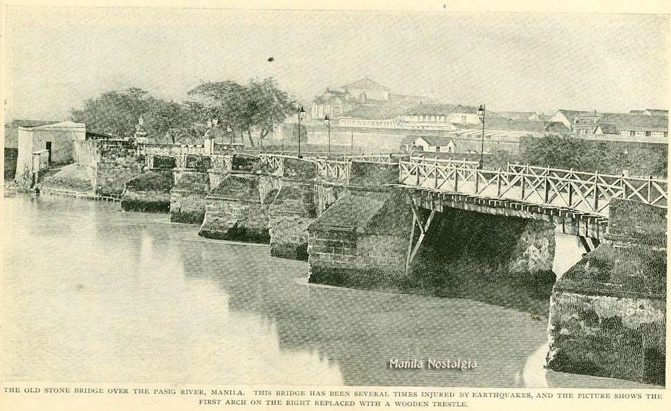Puente de Piedra-1860s