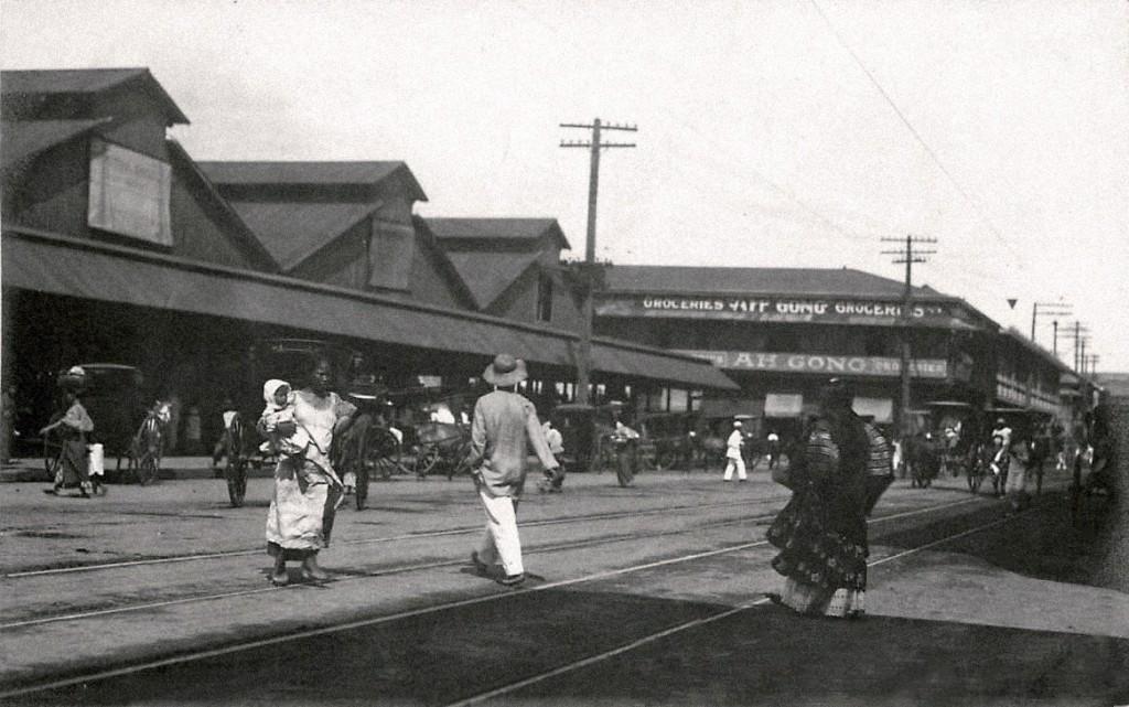 Ah Gong Groceries behind La Quinta market - 1903