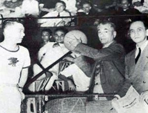 Ateneo-La Salle Friendship Game with Pres. Quezon-1939