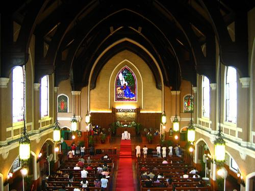 Central United Methodist interior