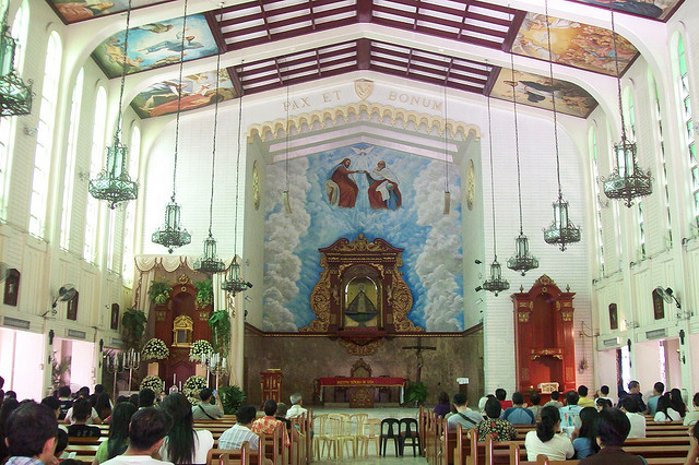 Ermita Church interior