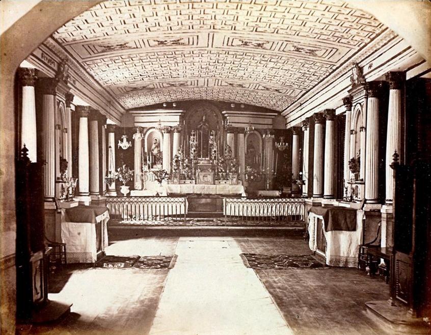 Oratorio de Ateneo Municipal de Manila 1887-burned 1932