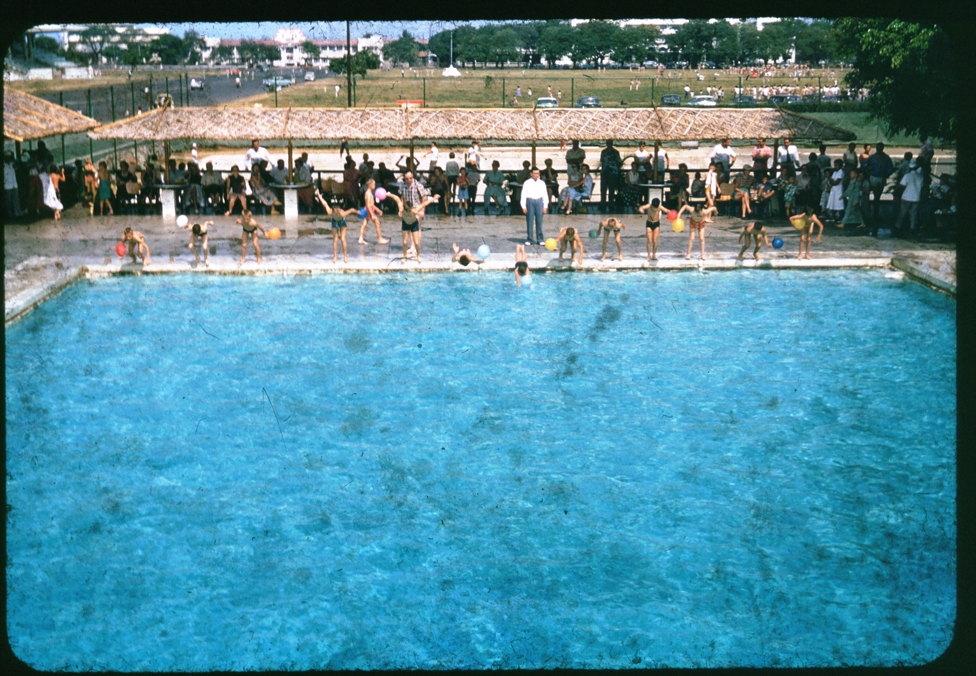 A & N Club Pool - c.1959 (courtesy of Skip Haven)