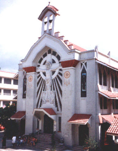 St.Paul College-chapel-today