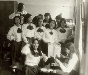 St. Theresa students of 1972.