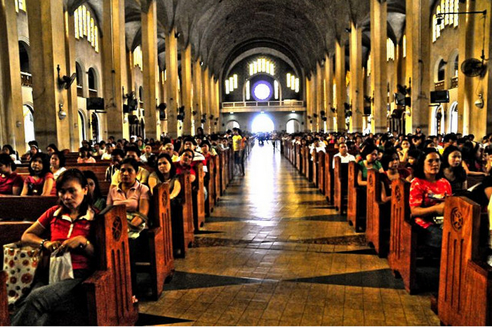Baclaran Church interior