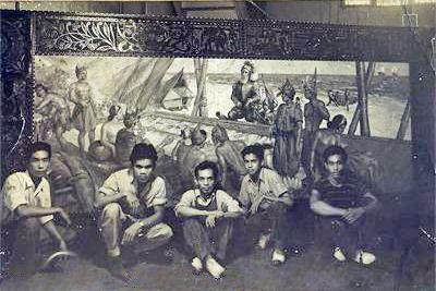 Dumlao mural at Admiral Apts