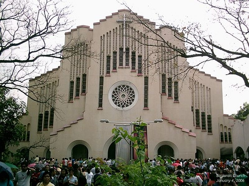 Imposing facade of Baclaran Church