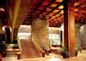 Lobby of Hyatt Regency Hotel Pasay 1967