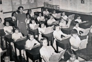 Maryknoll 3rd graders-1949