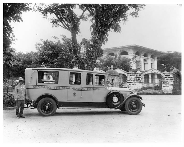 PGH Ambulance - 1927 Packard