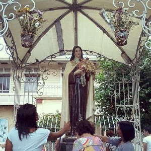 Shrine of Sta. Teresita in garden of Baclaran Church