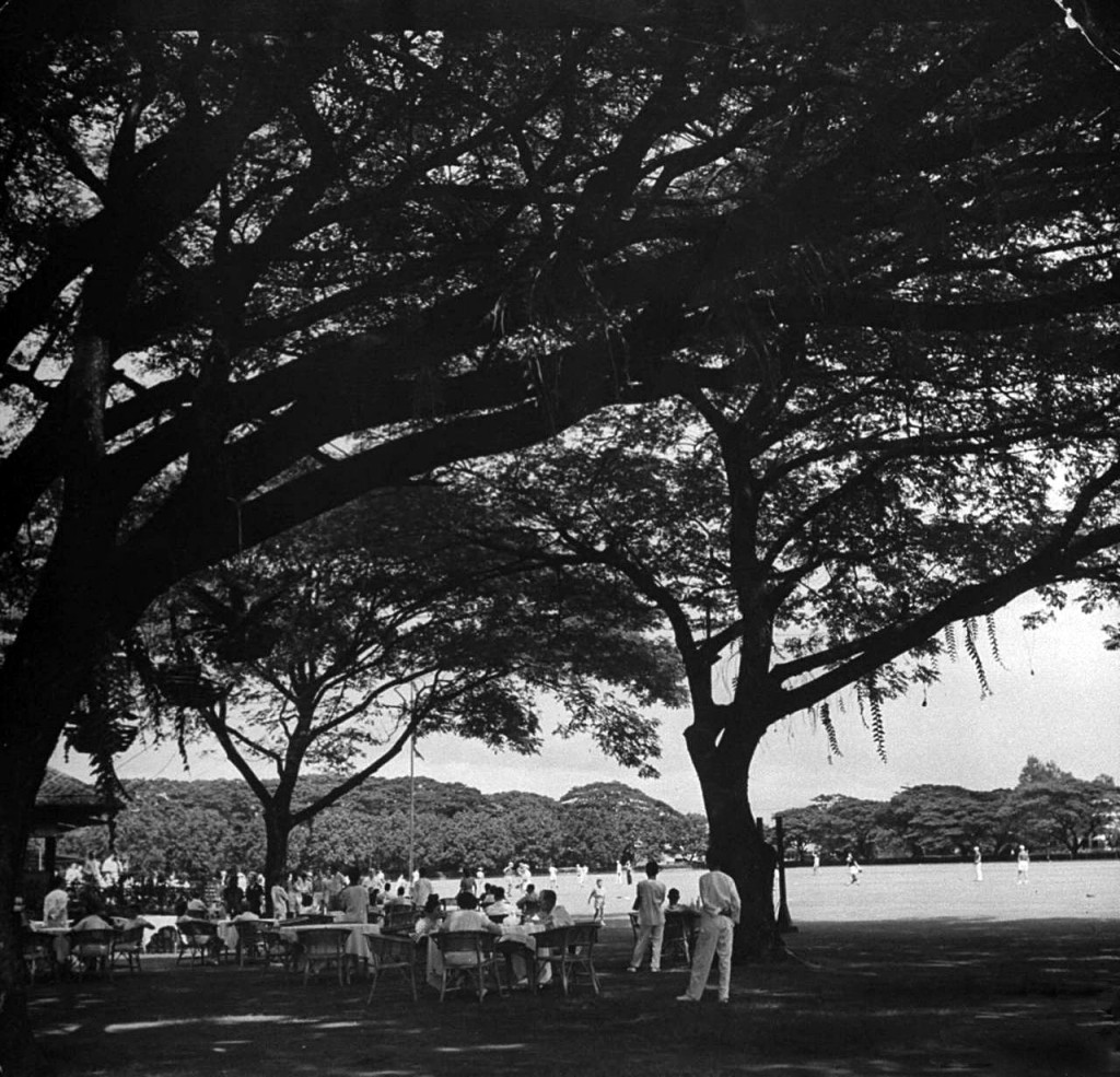 Baseball game at the Polo Club 1941