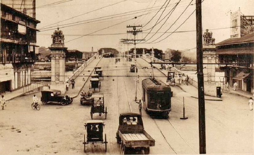 Jones Bridge from Plaza Moraga-1920s