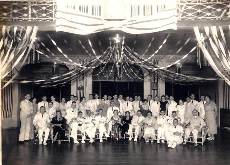 Members of the Polo Club c. Apr.1926