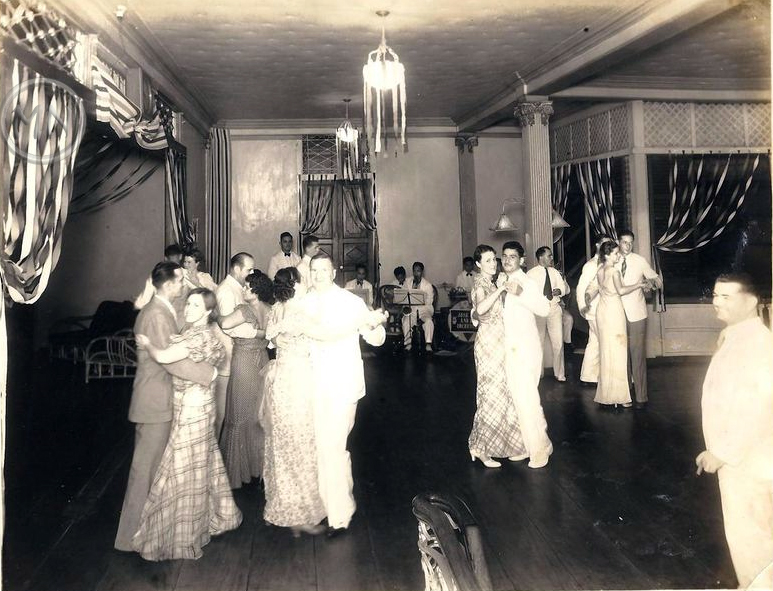Dancing at the Polo Club - 1926