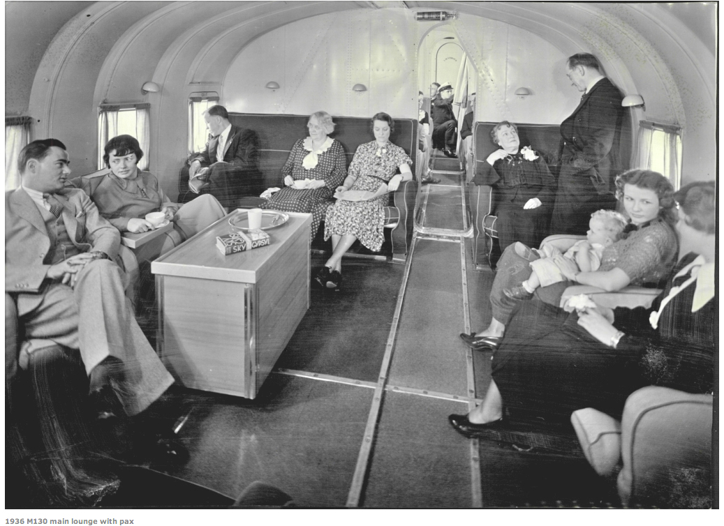 PanAm Clipper-M-130 interior