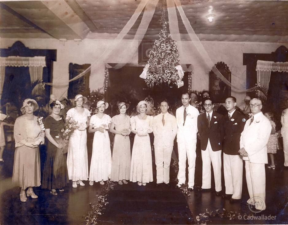 Bill-Billie Cadwallader wedding-11-5-1932-MPC-logo