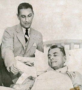 Col. Manuel Nieto and Pres. Quezon