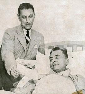 Col. Manuel Nieto and Pres. Quezon