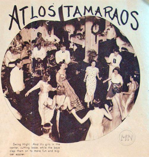 NY Eve 1937(2)-Tamaraos Club-logo