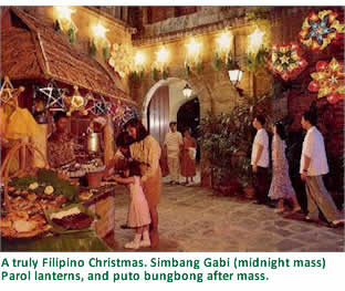 Traditionally The Faithful Go To Church At Four Oclock In Morning And Later Have Breakfast Together Noche Buena Is A Feast Enjoyed After
