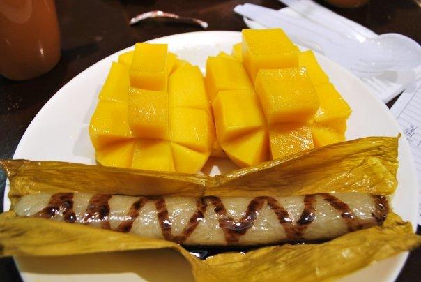 Suman and mango