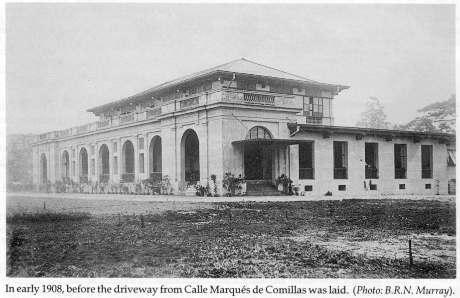 Manila Club-Calle Marques de Comillas-1908