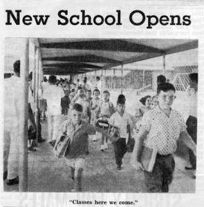 Bel-Air kids start school-June1961