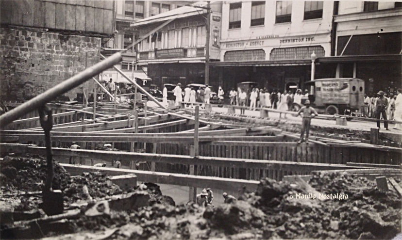 Heacock Bldg construction-1929