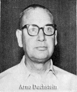 Arno Duchstein- ANC Mgr 1955-70
