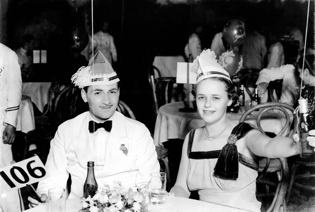 Ed and Lore Goldman - NY Eve 1938 (courtesy Lorelei Shark)