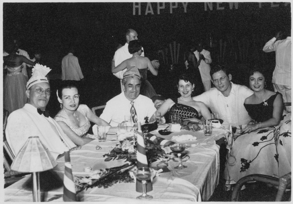 New Year's party-Hal and Paquita Bowie-12-31-1954 (courtesy Lea Bowie)