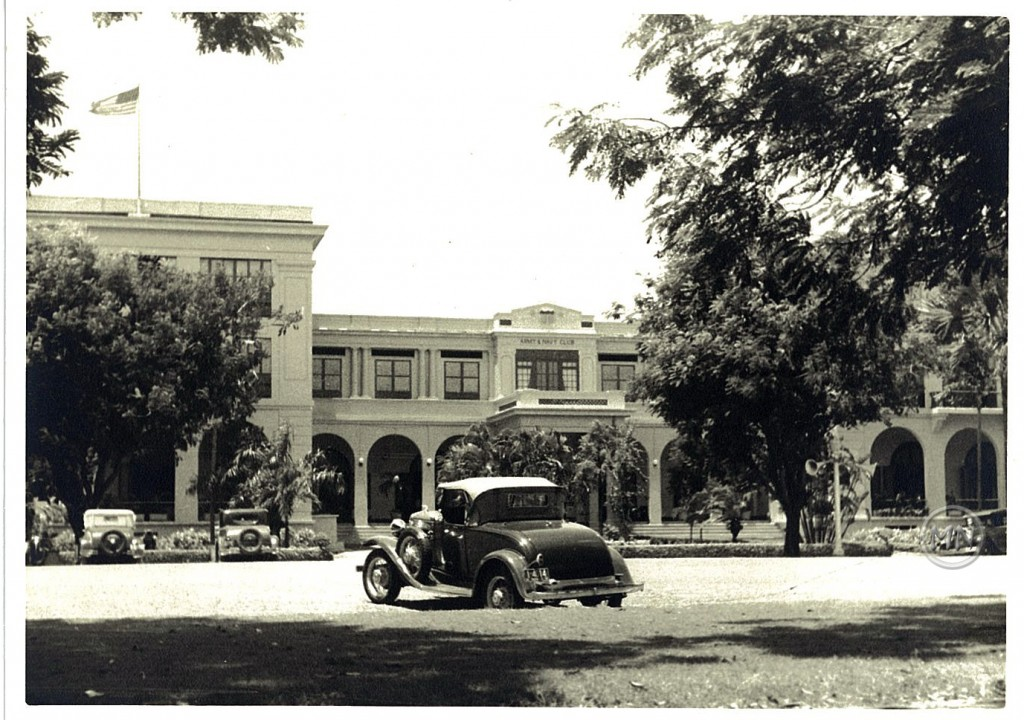 Army Navy entrance, 1937 (courtesy I.Donahue)