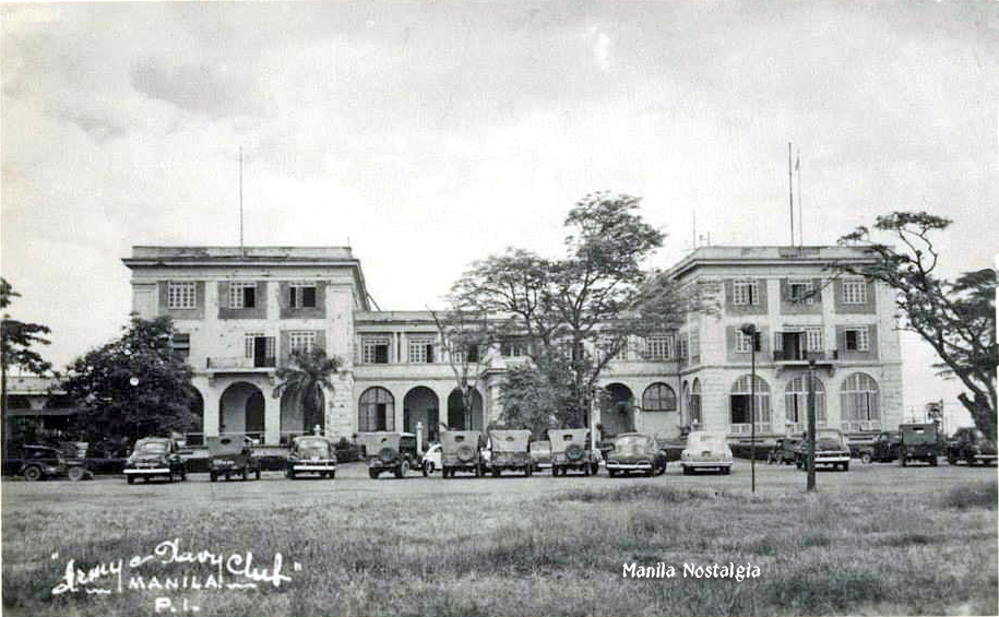 Army Navy Club - early 1946