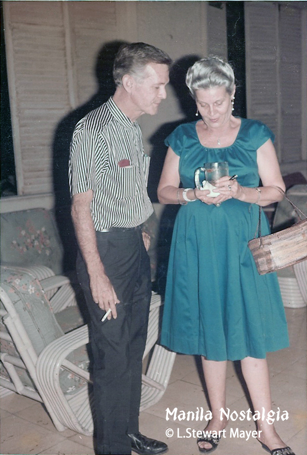 Bill Kane and Gertrude Stewart (courtesy L. Stewart Mayer)
