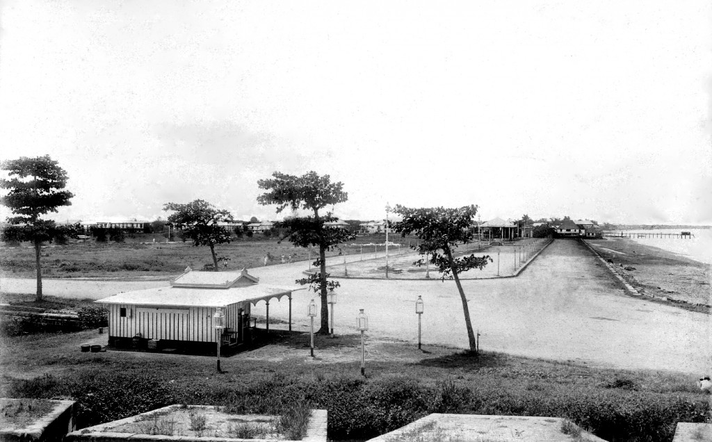 Luneta c.1899-looking southward to the future Elks and ANC sites.