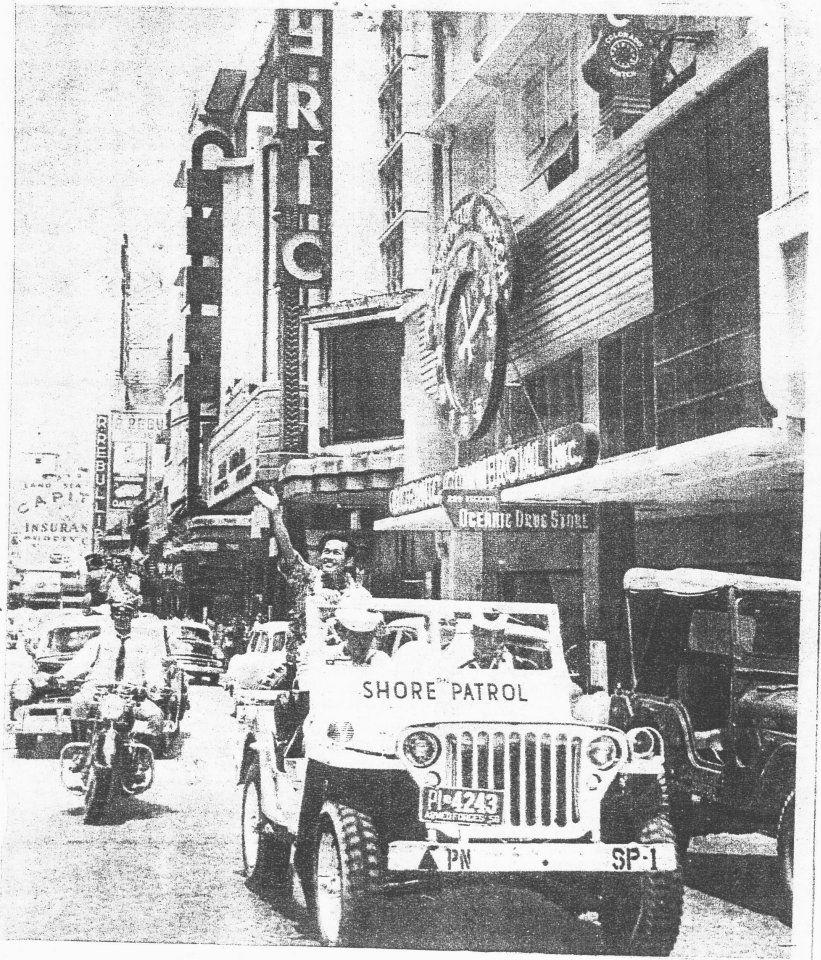 Escolta parade 1956-Florentino Das