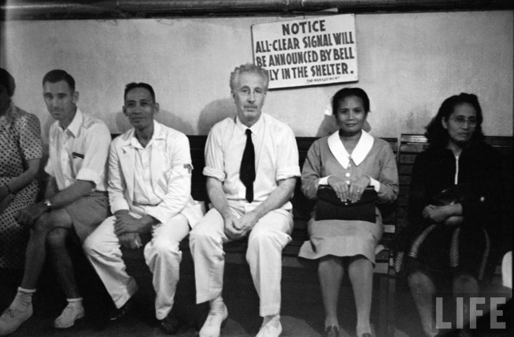 Air raid shelter Manila Hotel
