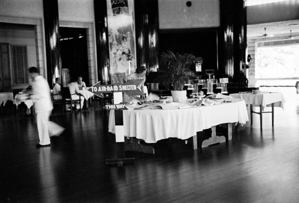 Manila Hotel dining room