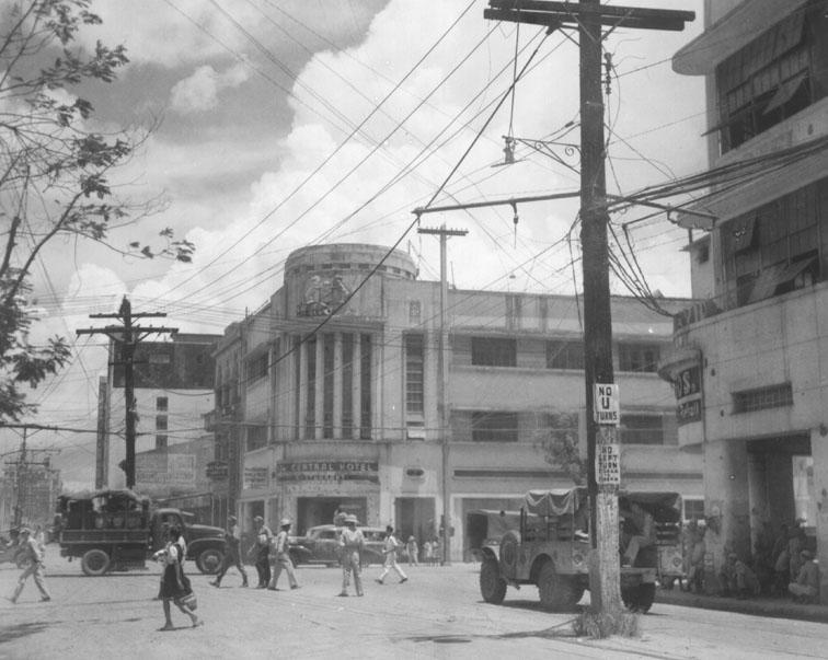 Avenida Rizal-Capitan Pepe bldg.-1945