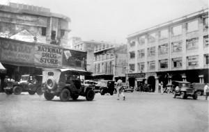 Avenida Rizal-Plaza Goiti-1946
