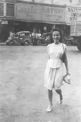 Carlota walking