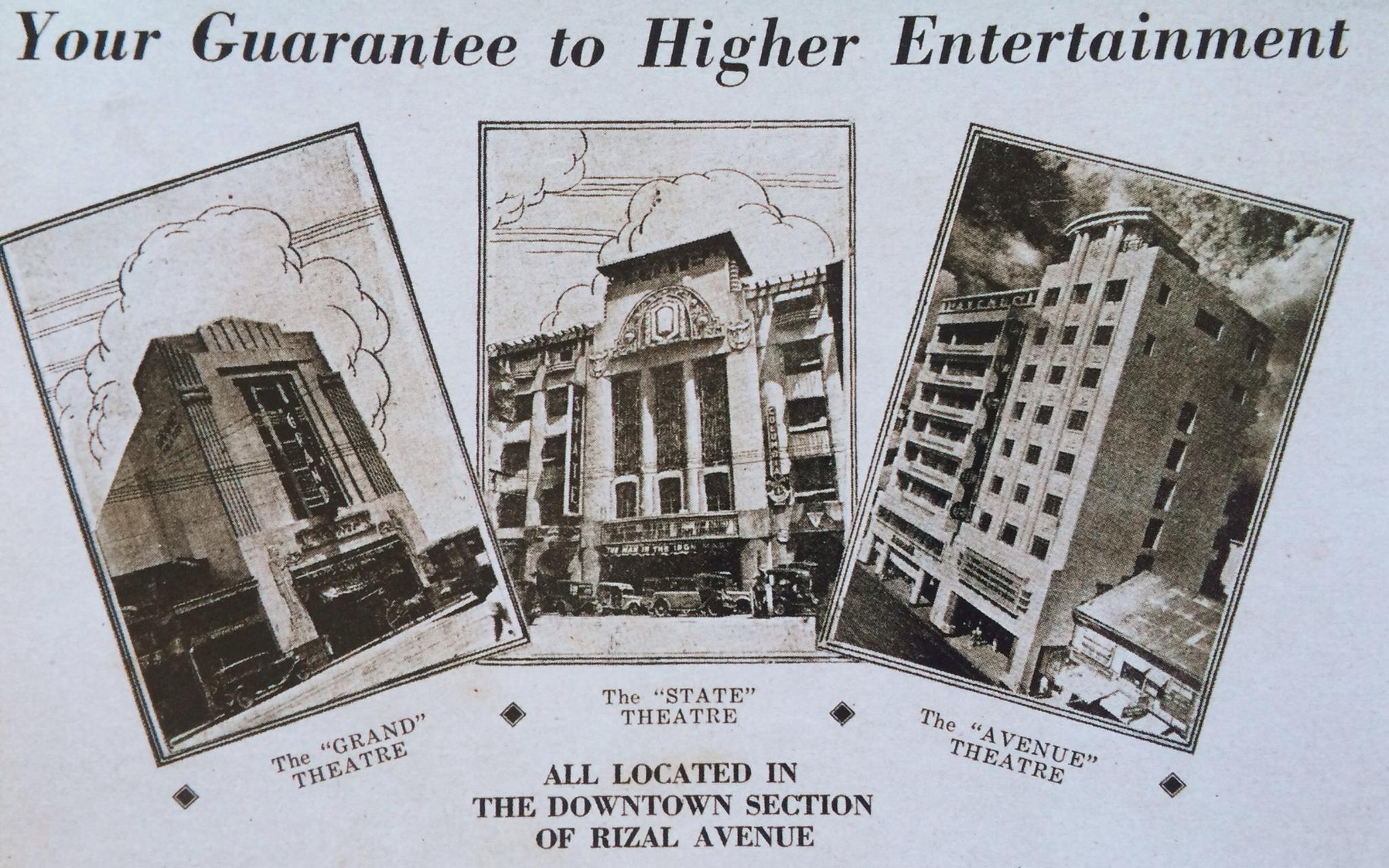 Grand-State-Avenue Theaters ad
