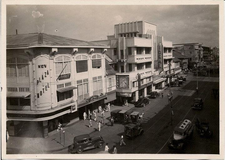 Rizal Ave-Ideal-Plaza Hotel-1930s