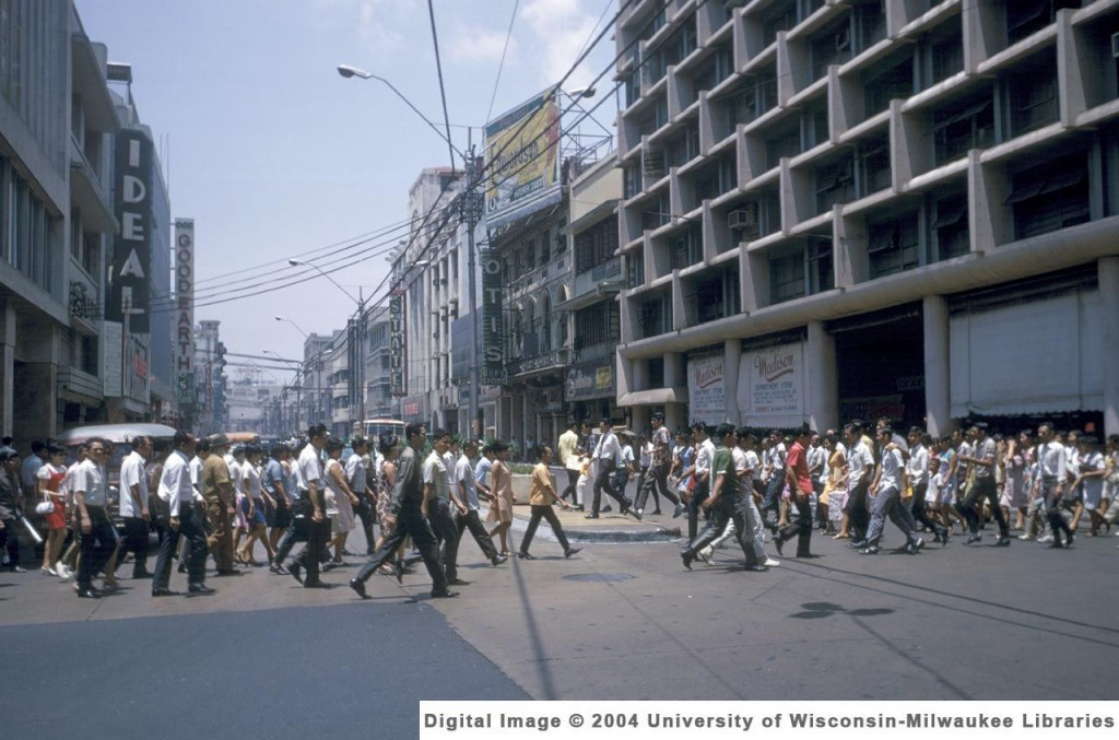 Rizal Ave-1957 (Univ.Wisconsin archives)