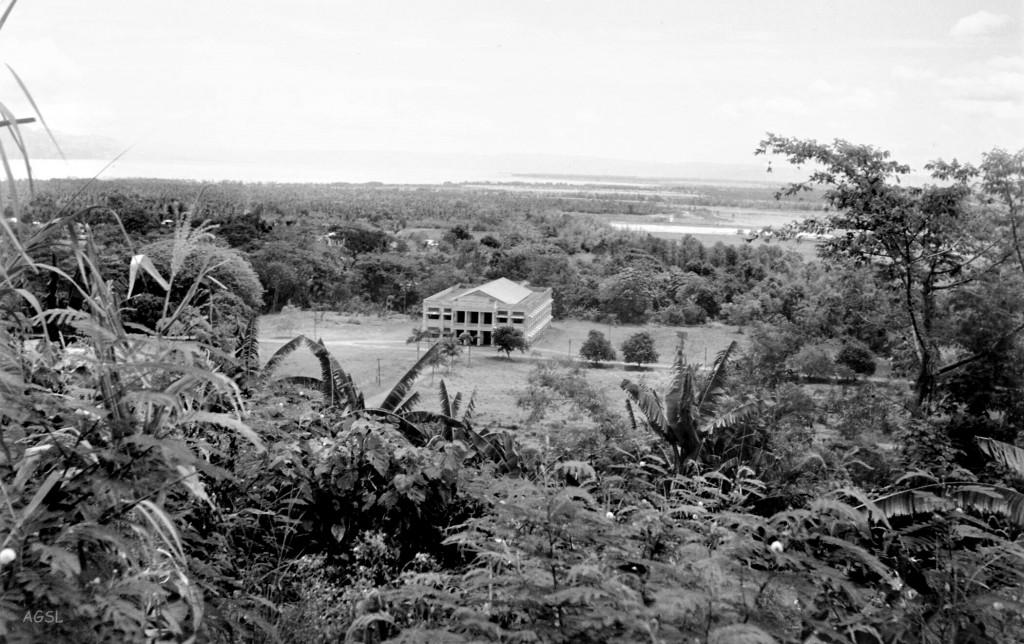 Los Baños - Baker Hall 1948 (courtesy J. Tewell)